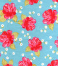 Snuggle Flannel Fabric -Chic Florals