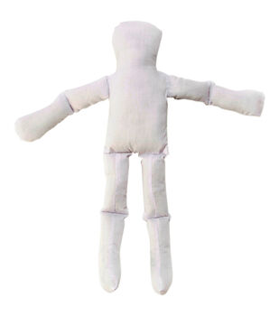 Darice 18'' Muslin Doll-Natural