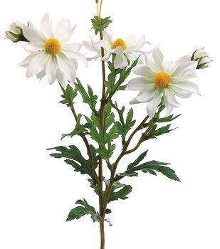 Bloom Room 14'' Shasta Daisy Spray-White