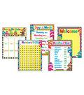 Classroom Basics Sock Monkeys Learning Charts Combo Pack Set 5 2 Packs