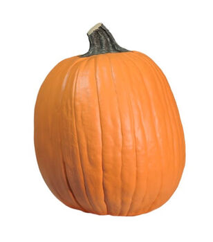 Fun-Kins Halloween 14'' Carvable Pumpkin-Orange