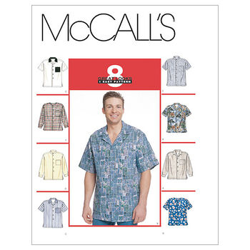 McCall's Mens Top-M2149
