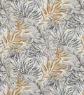 Robert Allen @ Home Upholstery Fabric 55\u0022-Moonsoon Leaf Greystone