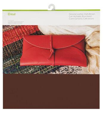 Cricut Genuine Leather-Dark Brown