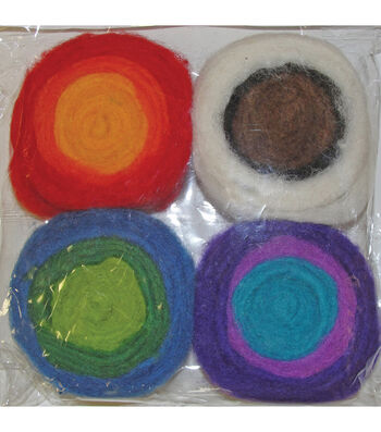 Feltworks Multi Color Roving Rolls-