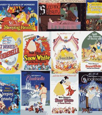 Disney Cotton Fabric -Awaken to a World of Wonders!