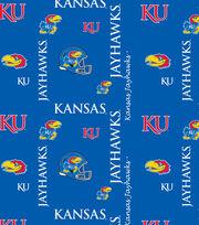 "University of Kansas Jayhawks Fleece Fabric 60""-Digital Camo, , hi-res"