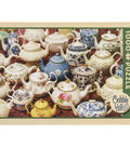 Cobble Hill Company 1000 Pieces Jigsaw Puzzle-Teapots