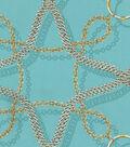 Home Decor 8\u0022x8\u0022 Fabric Swatch-Waverly Chain Reaction/Aquamarine