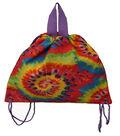 Tie-Dye Sling Back Bag-Rainbow