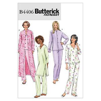 Butterick Misses Sleep & Lounge-B4406