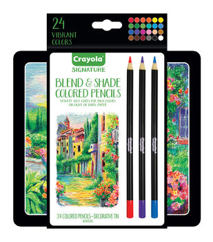 Crayola Signature 24 ct Colored Pencils
