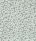 Quilter\u0027s Showcase Cotton Fabric -Circles on Gray