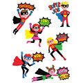 Creative Teaching Press Superhero Reward Stickers 12 Packs
