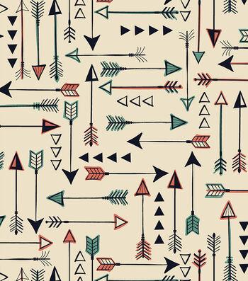 "Anti-Pill Fleece Fabric 58""-Bear Lake Arrows"