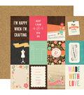 I\u0027d Rather Be Crafting Double-Sided Cardstock 3\u0027\u0027x4\u0027\u0027-Journaling Cards