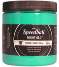 Night Glo Fabric Screen Printing Ink 8oz-Green
