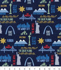 Snuggle Flannel Fabric -Travel Destinations