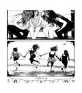 Crafty Individuals Unmounted Red Rubber Stamp-Life\u0027s a Beach Girlfriends