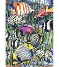 Royal Brush 5\u0027\u0027x7\u0027\u0027 Colour Pencil By Number Kit-Underwater Life