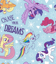 "Hasbro My Little Pony Flannel Fabric 42""-Dare To Discover, , hi-res"