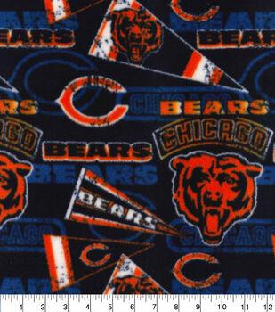 Chicago Bears Fleece Fabric-Retro