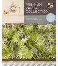 DCWV 12\u0022x12\u0022 set of 5 Premium Papers-Grey Multipack Assortment II??