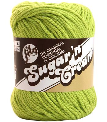 Lily Sugar'n Cream Solids Yarn