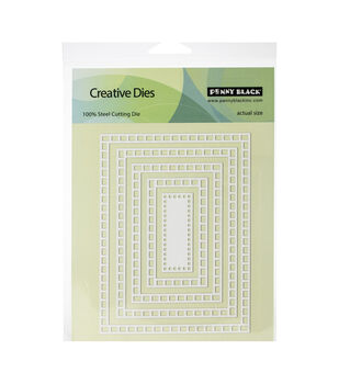 Penny Black Creative Dies-Square Frames 5.4''X4.2''