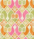 Home Essentials Lightweight Decor Fabric 45\u0022-Sheraton Ikat Popiscle