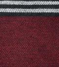 Sportswear Acrylic Fabric 52\u0022-Burgundy Squares