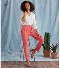 Simplicity Pattern 8389 Misses\u0027 Pants with Tie Belt-Size R5 (14-22)