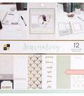 DCWV 36-sheets 12\u0027\u0027x12\u0027\u0027 Cardstock-Journaling