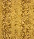 Home Decor 8\u0022x8\u0022 Fabric Swatch-Upholstery Fabric Barrow M8791-5177 Honey