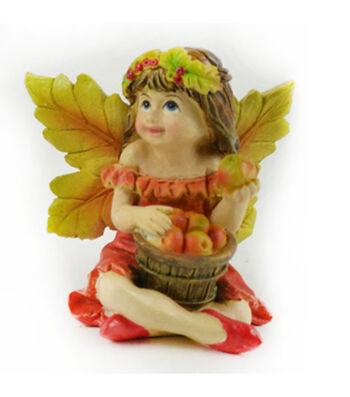 Simply Autumn Littles Fairy with Apples