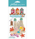 Jolee\u0027s Boutique Dimensional Stickers-Beach