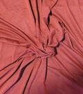 Heavy Knit Apparel Fabric-Wine
