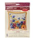 Riolis 15.75\u0027\u0027x15.75\u0027\u0027 Counted Cross Stitch Kit-Moorish Lawn Cushion