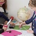 Beginner Sewing Kit Pink Felt Purse