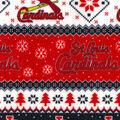 St. Louis Cardinals Fleece Fabric-Winter