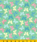 Made In America Cotton Fabric-Butterfly Green