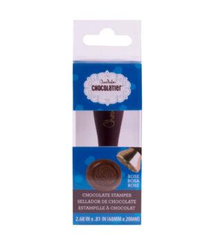 ChocoMaker Chocolatier Chocolate Stamper-Rose