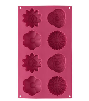 Wilton Flower Silicone Candy Mold