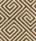 Home Decor 8\u0022x8\u0022 Swatch Fabric-IMAN Home Banji Sepia