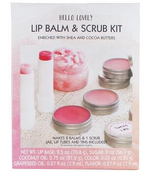 Hello Lovely Lip Balm & Scrub Kit