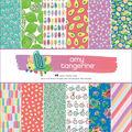 American Crafts Single-Sided Paper Pad 12\u0027\u0027X12\u0027\u0027 48/Pkg-Amy Tan