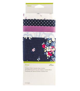 Cricut Designer Fabric Sampler-Blue Carolina