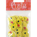 Flair Originals 18 pk 1\u0027\u0027 Buttons-Kissy Face Emoji