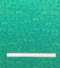 Doodles Juvenile Apparel Fabric 57\u0022-Freehand Automobiles Interlock