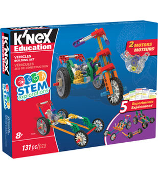 K'NEX Education STEM Explorations Vehicles Building Set